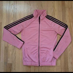 Adidas Pink Classic Strip Sport Sweater
